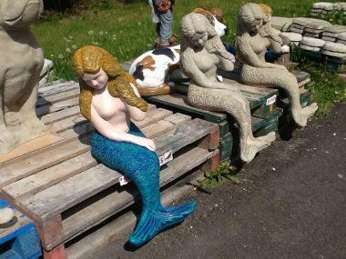 Mermaid Garden Statues