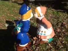 Dutch Boy And Girl Kissing