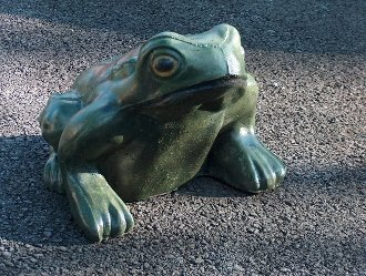 Extra Large Frog Statue