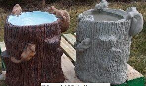 Concrete Bird Baths Unique Lawn Garden Statues